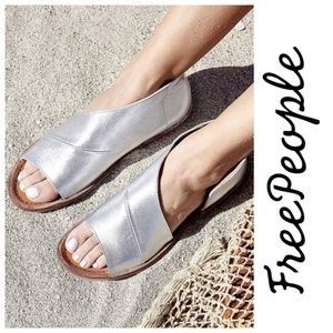 NEW Free People Mont Blanc Asymmetrical Sandals